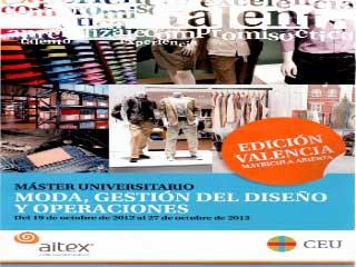 master moda Valencia