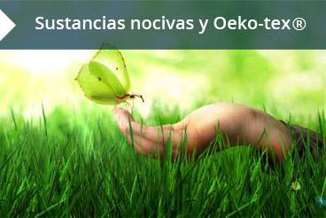 sustancias nocivas y oeko-tex
